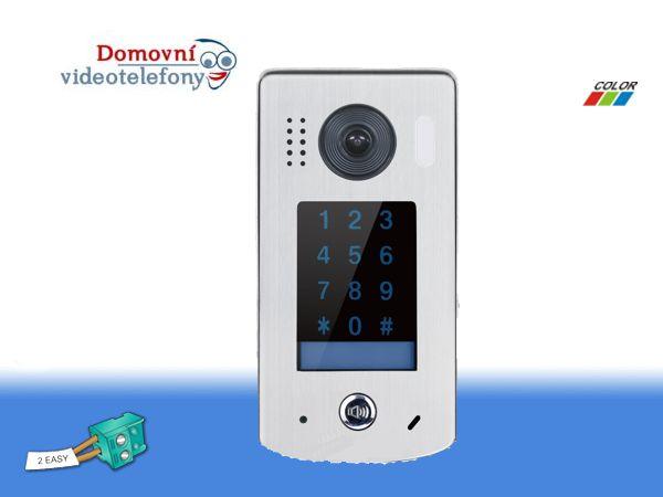 Dveřní telefon PC-D252-K s kódovou klávesnicí